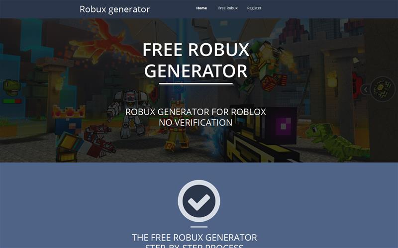 Online Free Robux Generator For Roblox