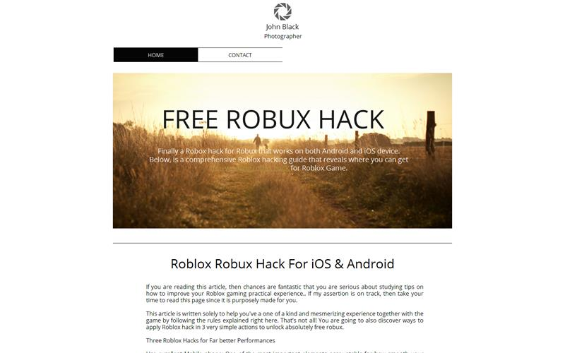 Free Robux Hack For Roblox 2018