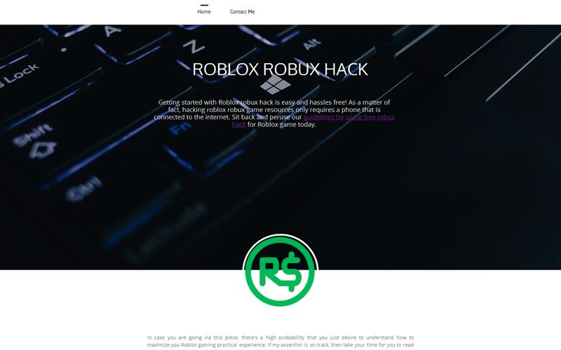 Robux Hackn - Free Roblox Robux Hack Latest Robux Hacking Method
