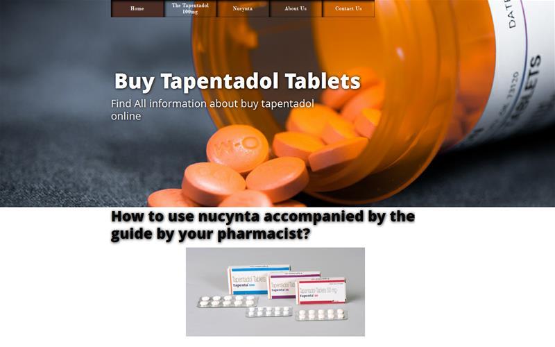 Buy Tapentadol Tablets
