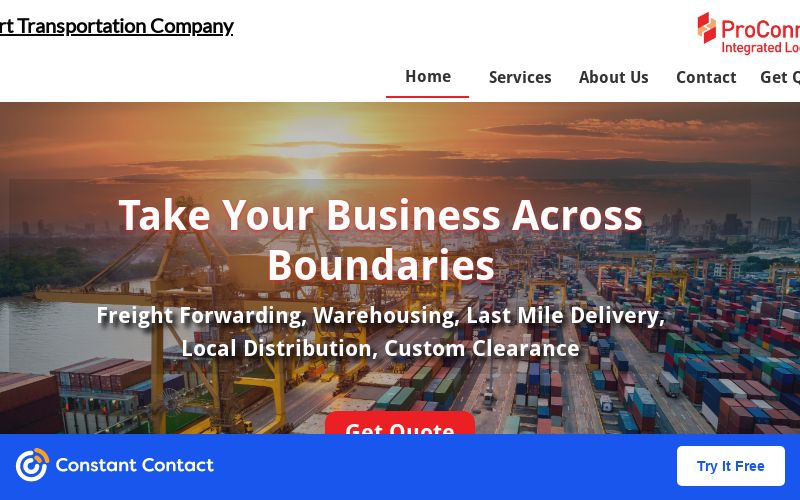 Global Logistics, Freight Forwarding and Warehouse Services