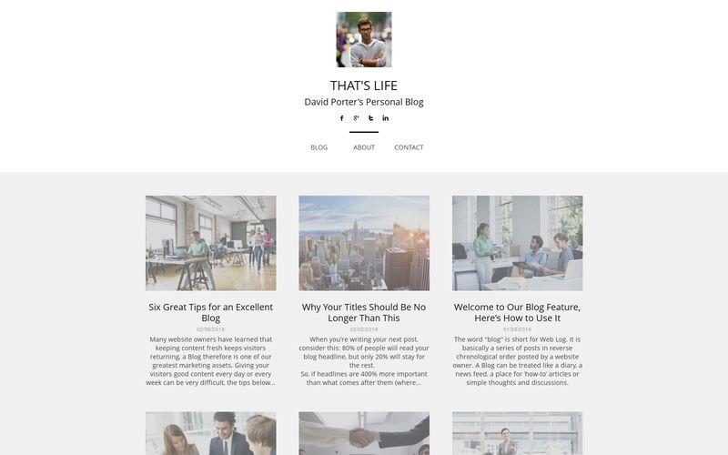 Un blog personal