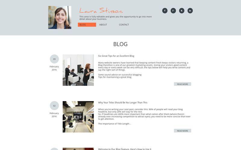 Autobiografia - Blog