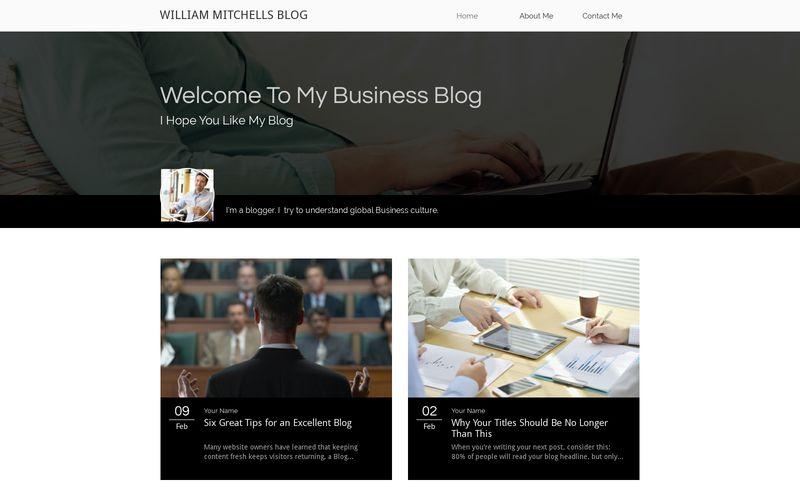 Blog de negócios
