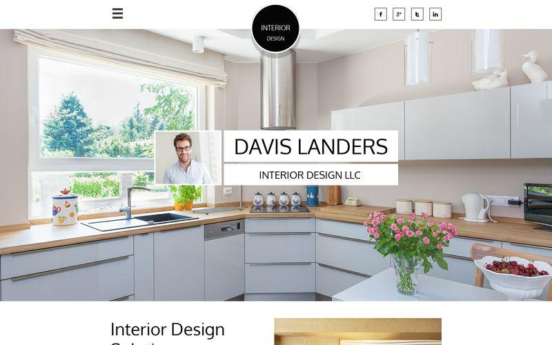 Design de interiores de Davis Landers