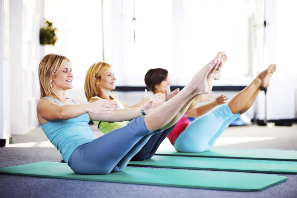 More Pilates Classes with Just Be Fit