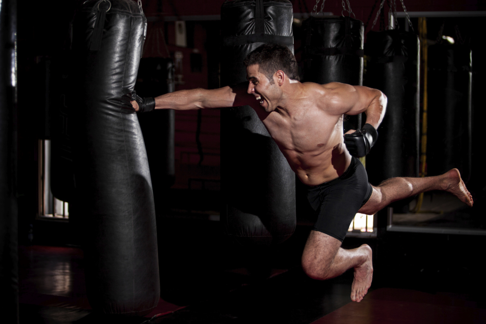 Authentic Boxing Gym Workout