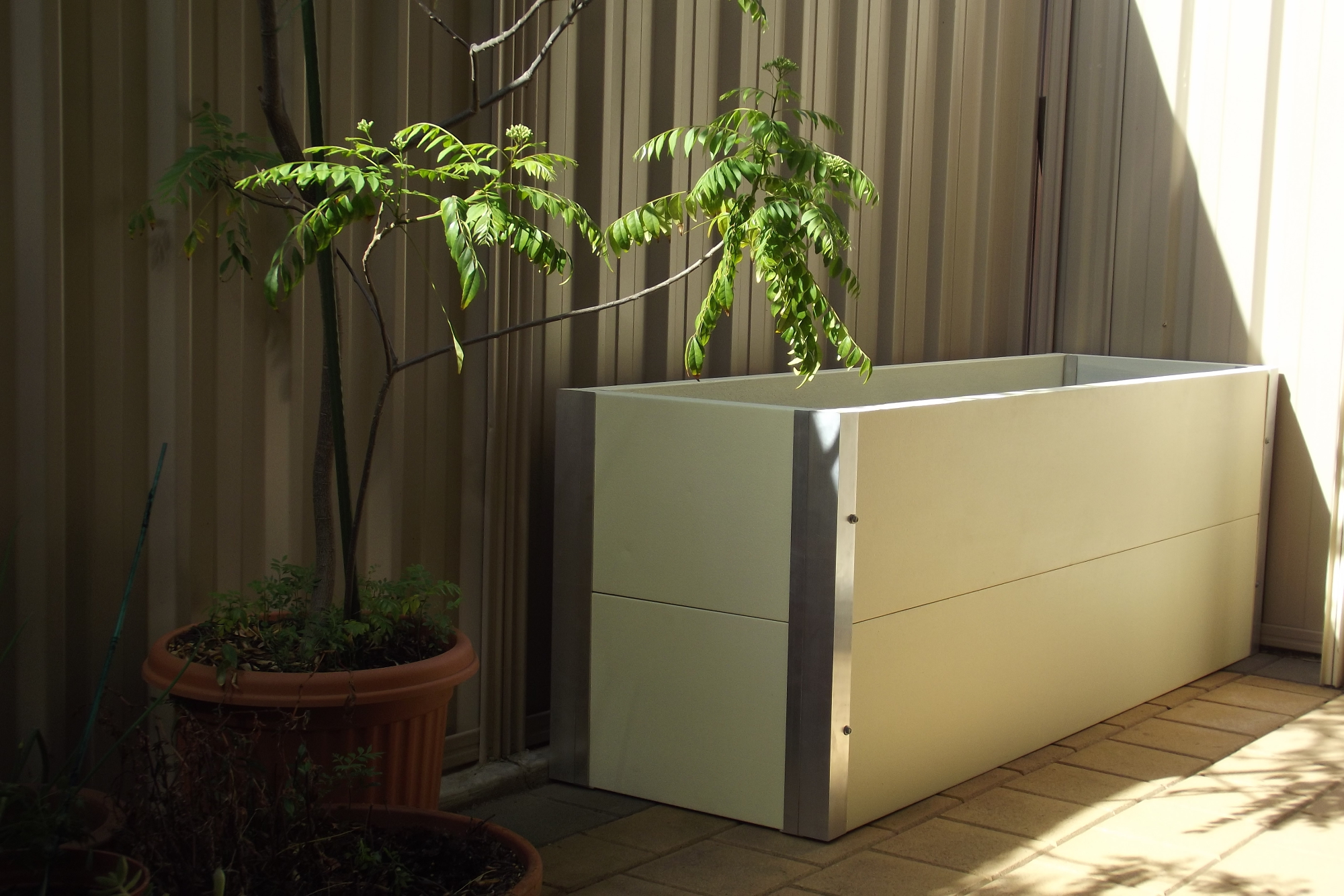 Patio & Pergola planter boxes
