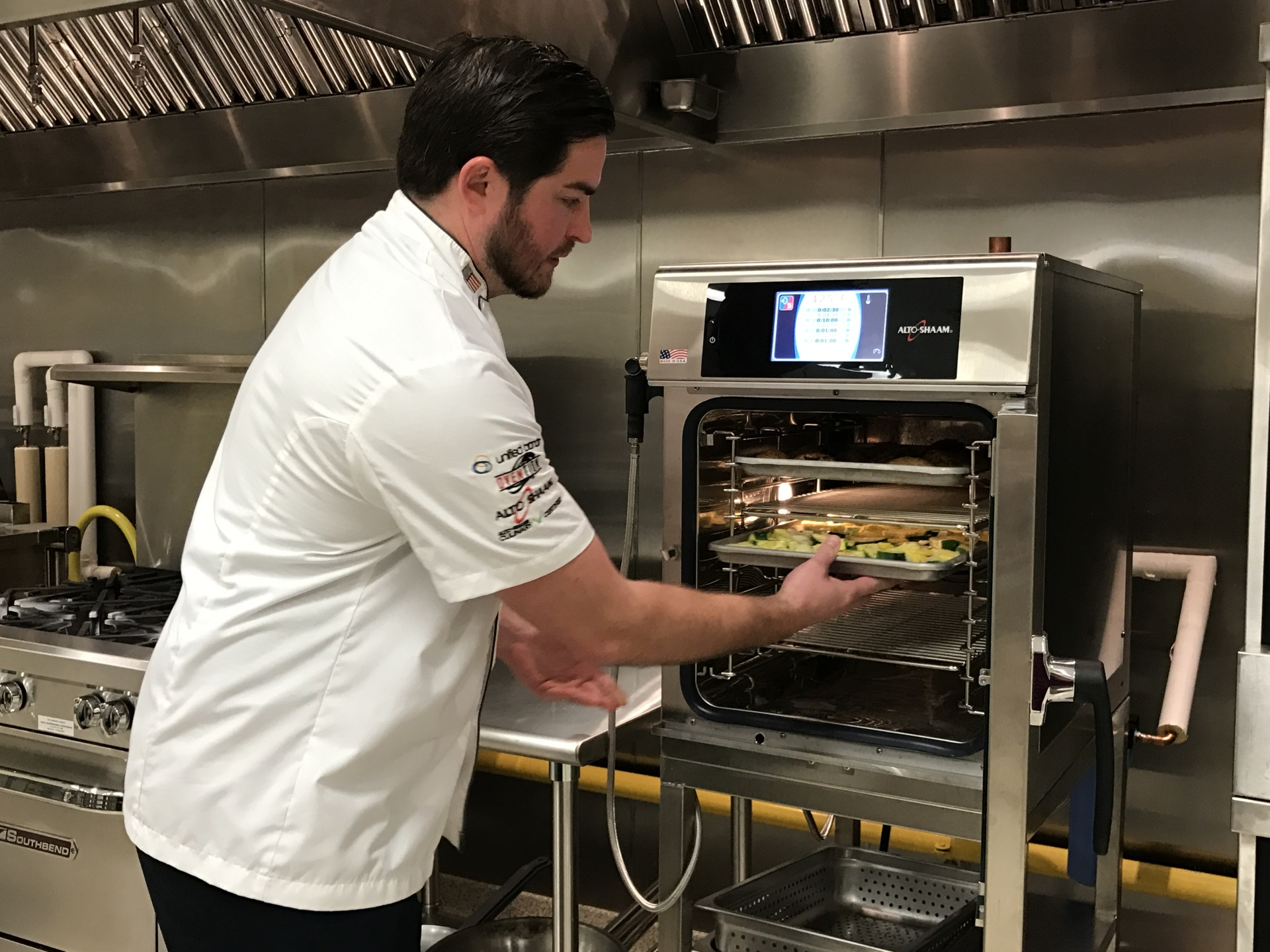 Chef Bobby Lang Combi-Oven Demo