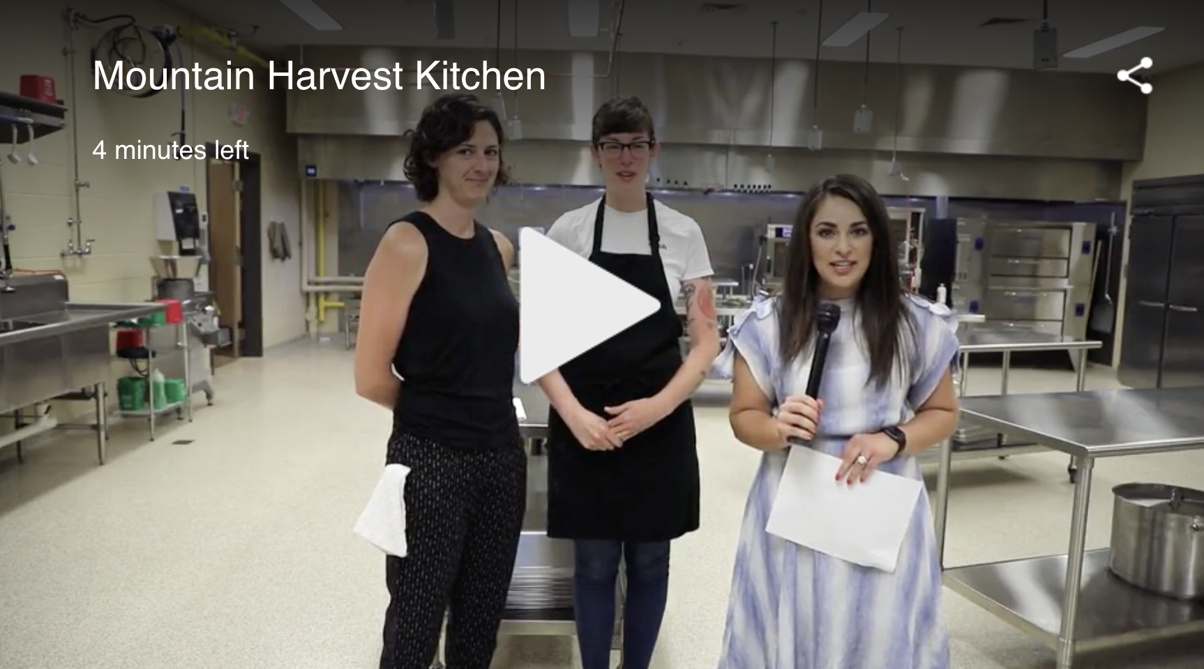 Mountain Harvest Kitchen on Daytime-Tri
