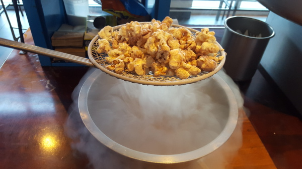 Chocolate cinnamon nitro popcorn
