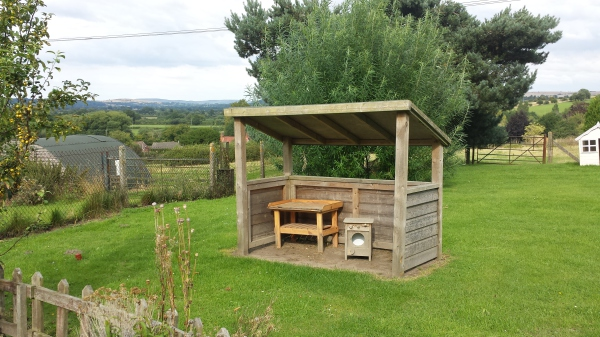 Our Mud Kitchen