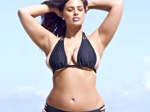 Plus size beauty model Ashley Graham to feature in Sports Illustrated's Swimsuit Edition