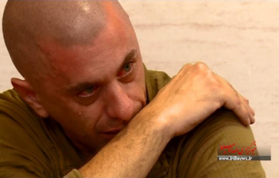 US sailors crying: pictures released by Iran state TV