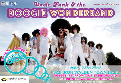 Uncle Funk Ladies Circle Concert at Saffron Walden Town Hall