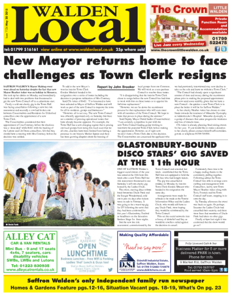 Saffron Walden Local News