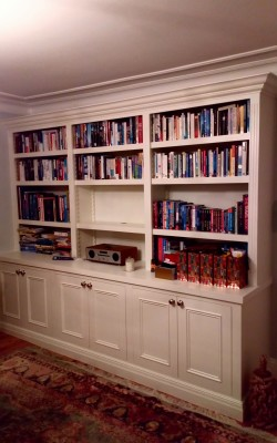 Beautiful Victorian style bookcases