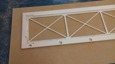 Making the lattice doors