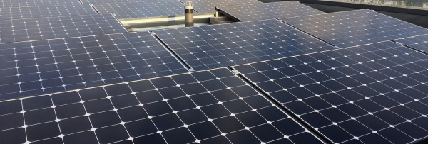 flat roof BENQ solar panel system