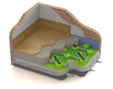 Tiemme Underfloor heating