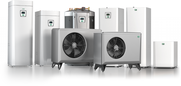 Heat pumps, air source heat pump, grund source heat pump, ASHP, GSHP, inverter driven heatpump, variable speed compressor