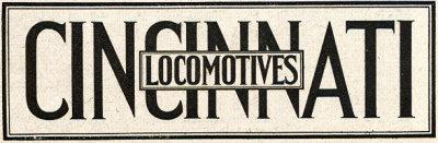 Cincinnati Locomotive, Cincinnati Car Corporation Locomotive, Cincinnati Gasoline Locomotive