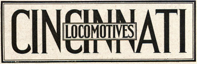 Cincinnati Locomotive, Cincinnati Car Corporation Locomotive, Cincinnati Gasoline Locomotive