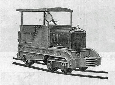 McFarlane-Eggers Locomotive