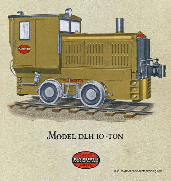 Plymouth-Locomotive-Model DLH
