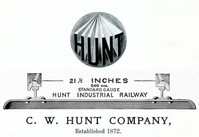 C.W. Hunt Company, Hunt Railway Systems, C.W. Hunt Locomotive, Hunt Locomotive