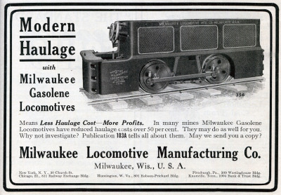 Milwaukee Locomotive Manufacturing Co.