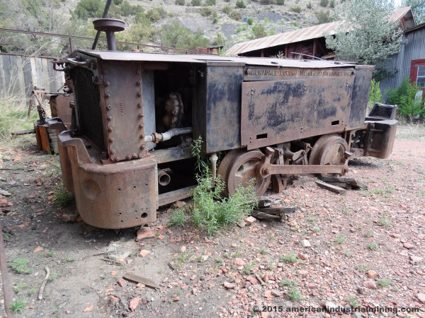 Milwaukee Gasoline Locomotive, mine locomotive, american industrial mining