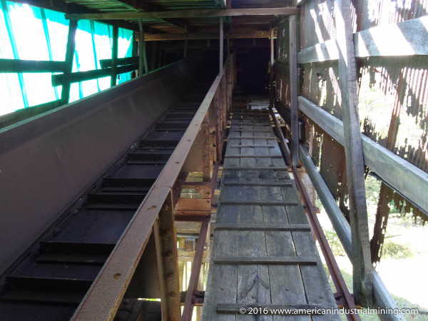 Jeffrey Mechanical Mining Conveyor