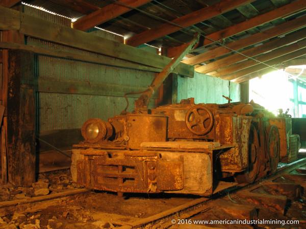 Jeffrey Mine Locomotive, American Industrial Mining Company, Ohio Abandoned Mine