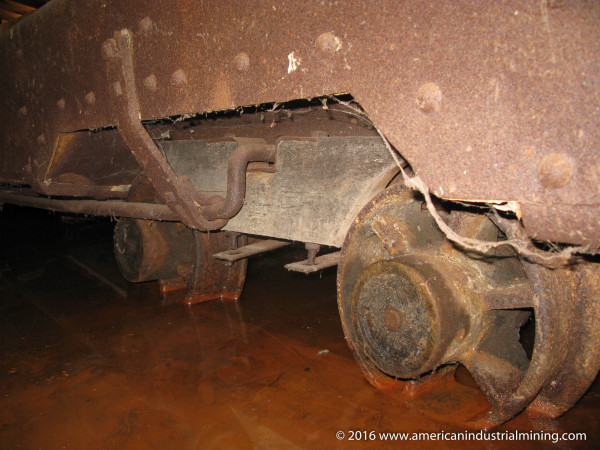 Watt Mine Car, American Industrial Mining Company, Ohio Hidden Mine