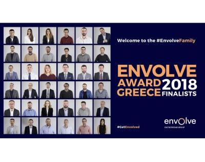 Geomiso among the 15 finalists of the Envolve Award Greece 2018!