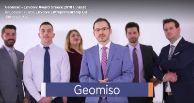 Vote Geomiso! Envolve Award Greece 2018