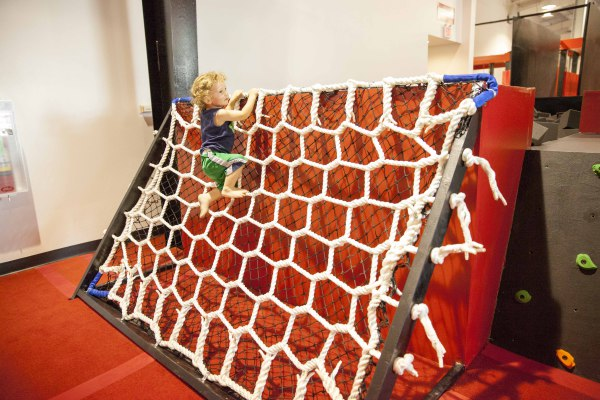 Lil Ninja Cargo Net Climb