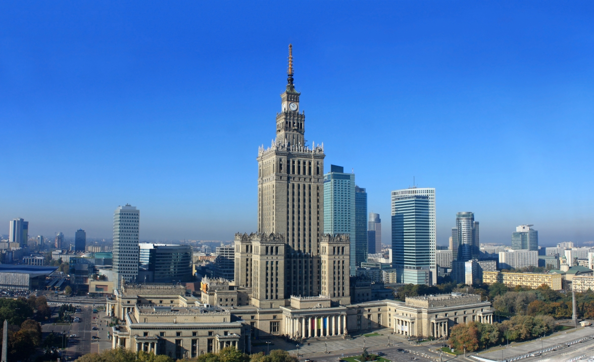 Warsaw business Sklyline