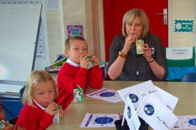 MPs' 7 years of supporting school milk