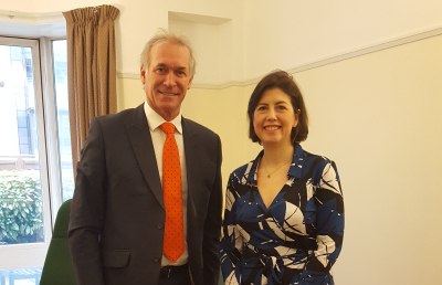 The Alliance meet with Lucy Powell MP