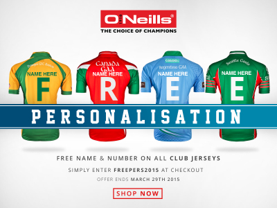 Oneill's Promotion