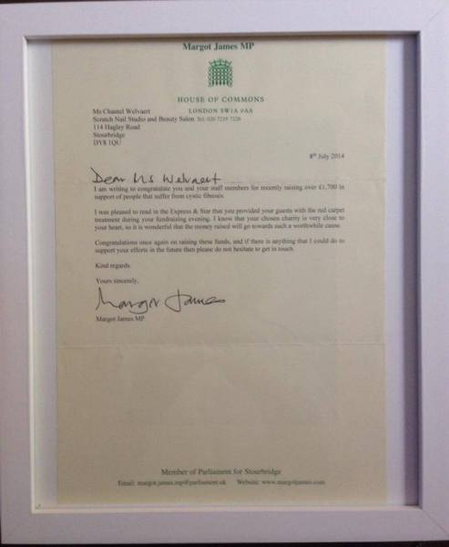 Letter from the House of Commons :)