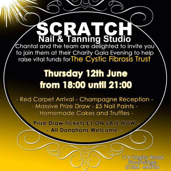 Charity Gala Evening for the Cystic Fibrosis Trust