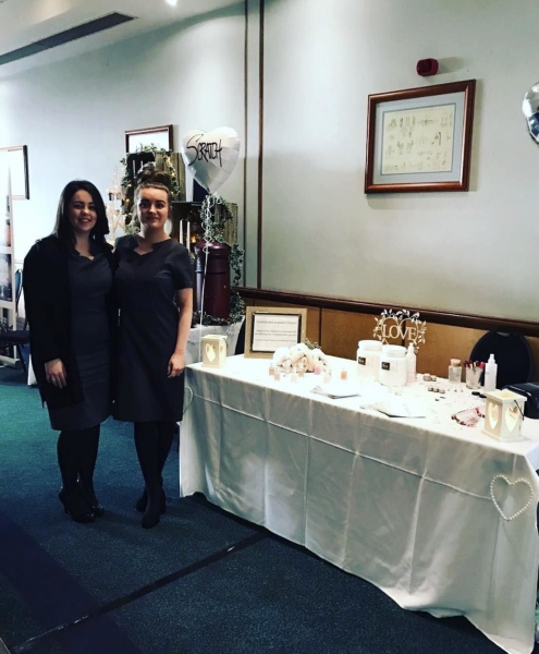 Amber and Cassie attend a Wedding Fayre