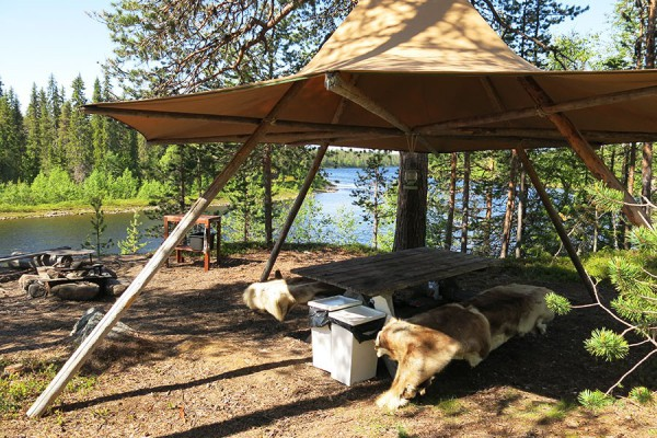 Camp Onka Dining Tent