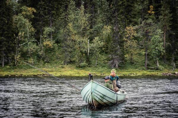 Camp Onka Boat
