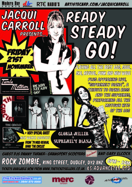 Ready Steady Go Supremes + Mick Walker