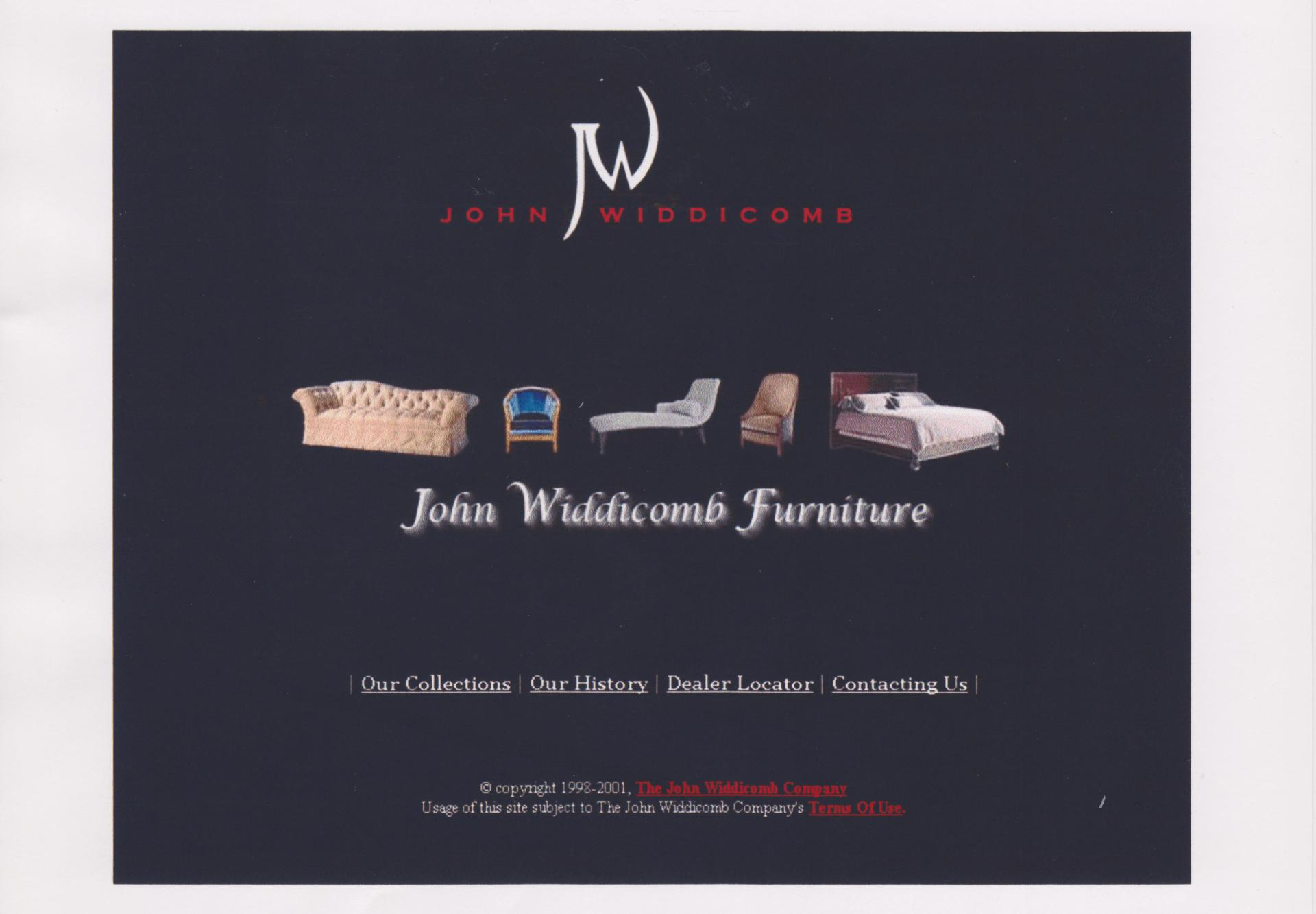 John Widdicomb Website