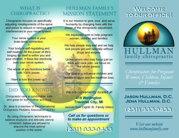 Hullman Chiropractic Brochure